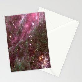 Tarantula Nebula Stars Stationery Cards