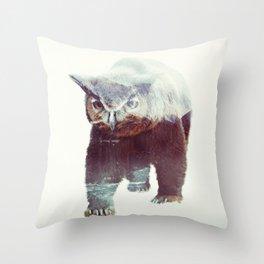 Owlbear Throw Pillow