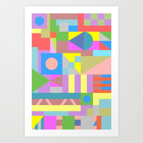 The Best Possible Solution Art Print