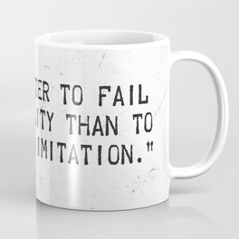 Herman Melville quote 2 Coffee Mug