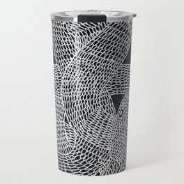 Inverted Snake in Ink Travel Mug