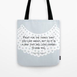 Fight, Lead - RBG Tote Bag