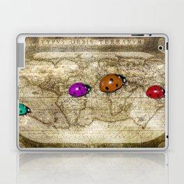 world traveller plus Laptop & iPad Skin