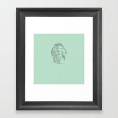 We're Not Bad People. -Shame Framed Art Print
