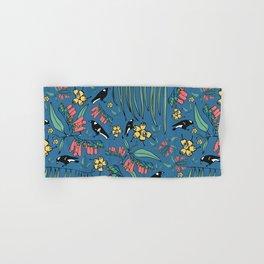 Magpie Muddle Hand & Bath Towel