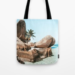 The Paradise - La Digue Island, Seychelles Tote Bag