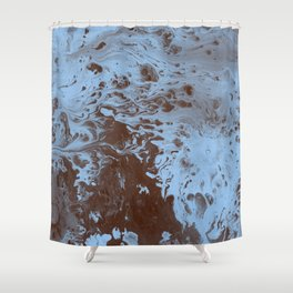 Tint - Abstract Marble Texture Series: 07 Shower Curtain
