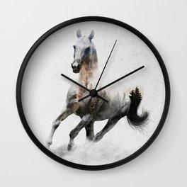 Galloping Horse Wall Clock