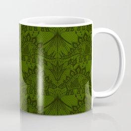 Stegosaurus Lace - Green Coffee Mug