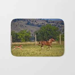 Mare and Foal Bath Mat