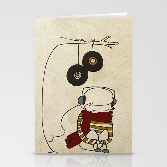 Music Tree Stationery Cards