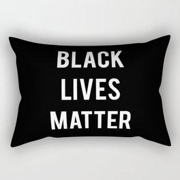 Black Lives Matter - Advocacy, Stop Racism Rectangular Pillow
