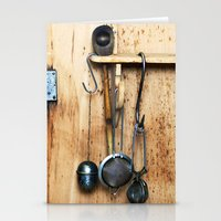 kitchen Stationery Cards featuring KITCHEN EQUIPMENT by CAPTAINSILVA