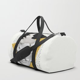 collage art / Faces Duffle Bag
