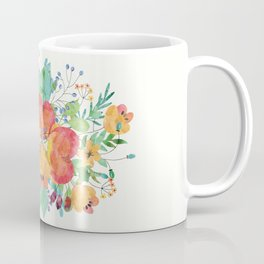 sweet floral water colour Coffee Mug