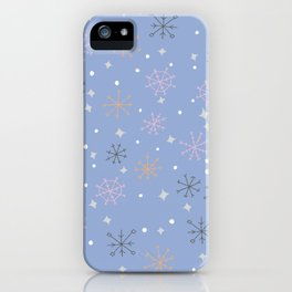 Candy snowflakes iPhone Case
