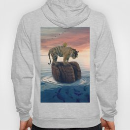 Tiger Drifting by GEN Z Hoody