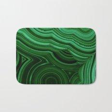 GREEN MALACHITE STONE PATTERN Bath Mat