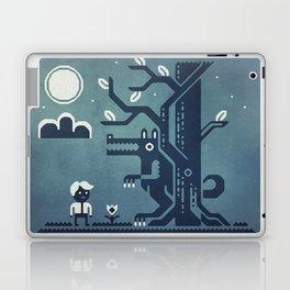 Midnight Menace Laptop & iPad Skin