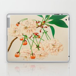 Fugen's Elephant Cherry Blossoms Laptop & iPad Skin