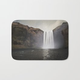 The Mighty Skogafoss Bath Mat
