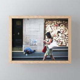 Time is Money Honey Framed Mini Art Print