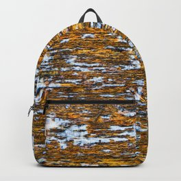 Moss on wood Textures 12 Backpack
