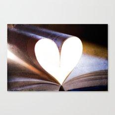 Love Books Canvas Print