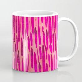 Pink Dash Coffee Mug