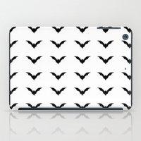 bats iPad Cases featuring Bats by Katrina Zenshin