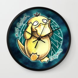54 - Psyduck Wall Clock