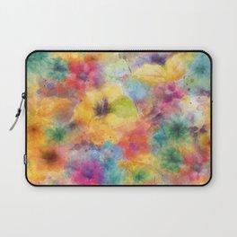 watercolor flowers /Agat/ Laptop Sleeve