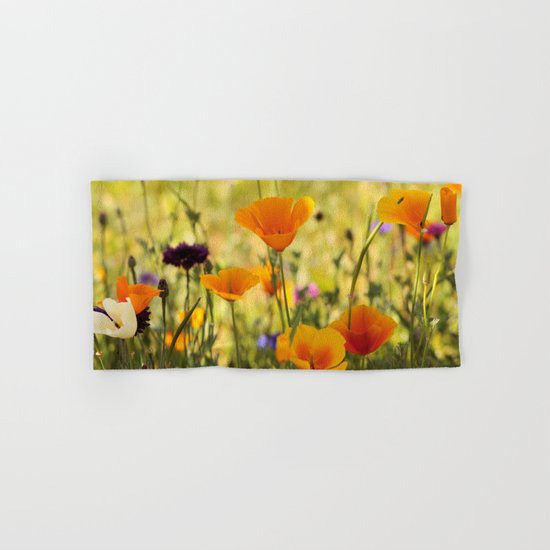 Summer Garden - JUSTART © Hand & Bath Towel