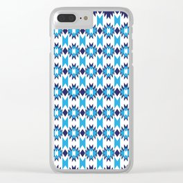 Woven Pattern 4.0 Clear iPhone Case