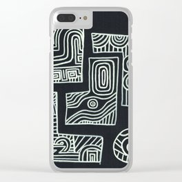 a feeling Clear iPhone Case