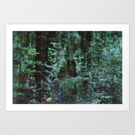 losing you to the wilds Art Print