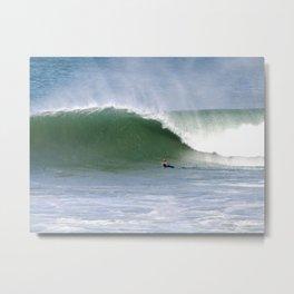 Mind Surfing Metal Print
