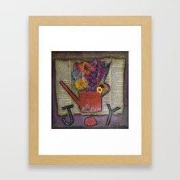 Joy in the Simple Things Framed Art Print