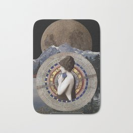 The Moon Bath Mat
