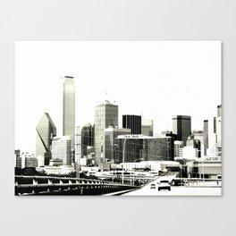 The Dallas storyline Canvas Print