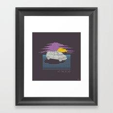 Hit the Road Framed Art Print