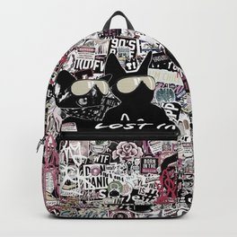 Lost in Graffitis and Stickers Backpack