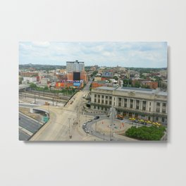 Penn Station, Baltimore Metal Print