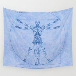 Proportions of Cyberman Wall Tapestry
