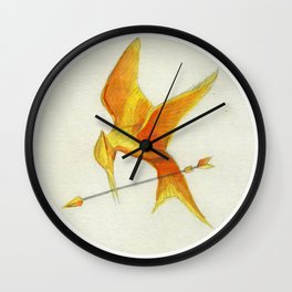 Mockingjay THGames Wall Clock