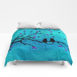 Lovecats - Together forever Comforters
