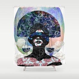 Libra (zodiac series 1) Shower Curtain