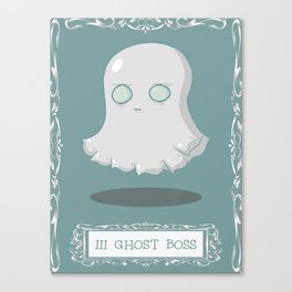 Ghost Boss Canvas Print
