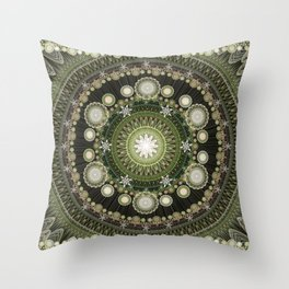 Fractorian Rug Throw Pillow