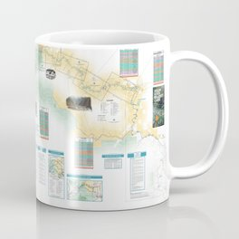 BLM - Detailed Rogue River Overview Map (2018) Coffee Mug